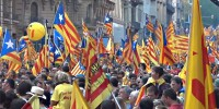 March for the Independence of Catalonia 11 Sep 2012