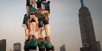 Castellers de Vilafranca in New York – June 2012