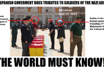 Spanish Government Hommages Nazi Soldiers and funds Nazi Association