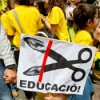 Massive demonstration in Barcelona in defence of public education