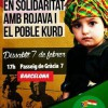 Solidarity with Kurdistan in Barcelona and València