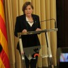 Catalan parliament speaker goes on trial for part in independence push