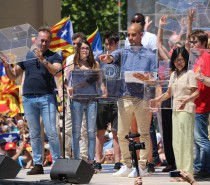 Pep Guardiola calls on the international community to support the Catalan referendum
