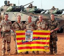 """Catalan president sees an army as """"absolutely essential"""" for an independent Catalonia"""