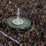 BBC News - In pictures- Catalonia rally attracts 1.5 million people