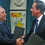 Alex Salmond and David Cameron